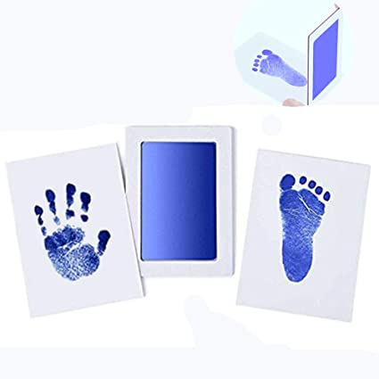 3Pack bebé recién nacido Babyprints Safe Handprint o huella Clean ...