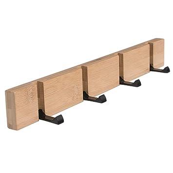 Hakenleiste Kleiderhaken Holz Garderobenhaken Wandhaken Garderobenleiste