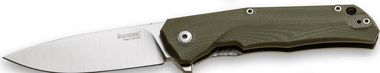 Lionsteel T.R.E. G10 - Green G10/Titanium Folder