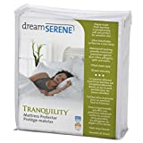 DreamSerene Tranquility Hypoallergenic, Waterproof and Breathable Mattress Protector, Queen Size