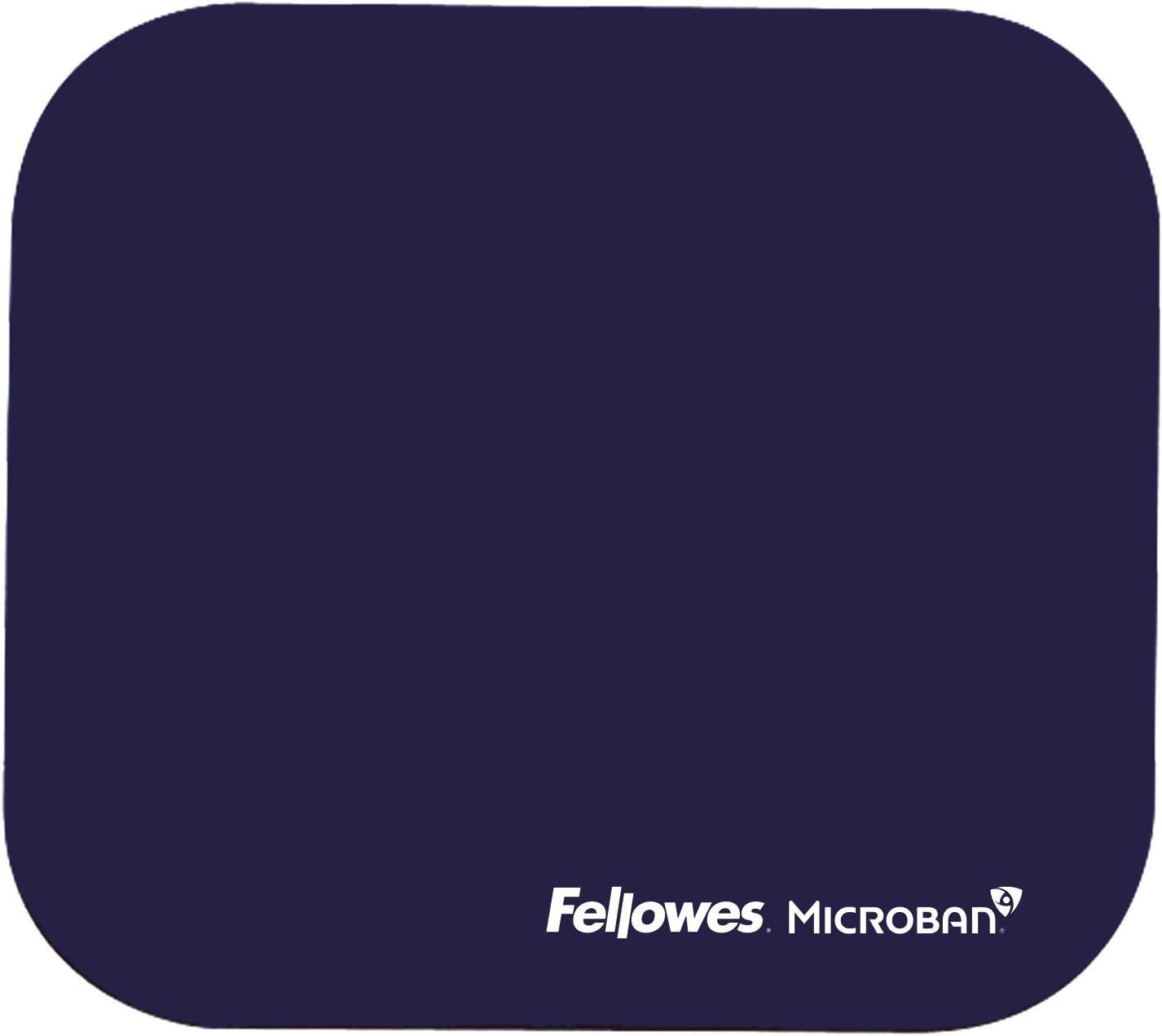 Fellowes 5933805 Tapis de souris avec protection Microban bleu marine