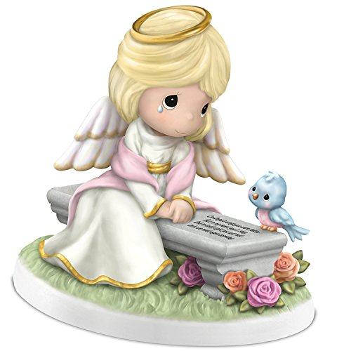 Precious Moments Heaven's Embrace Remembrance Figurine in Bisque Porcelain by The Hamilton ()