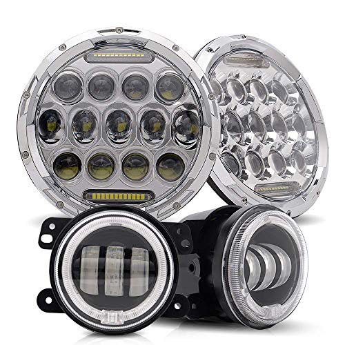 4 inch chrome driving lights - 7