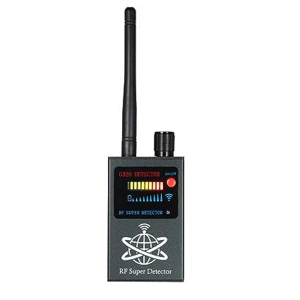 KKmoon Anti-Spy Detector de errores de RF Detectores de radio de señal inalámbrica Cámara