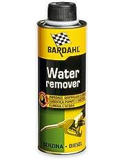 Bardahl 1087901 Water Remover Additivi Elimina Acqua nel Carburante per Motori Benzina Diesel, 300 ml