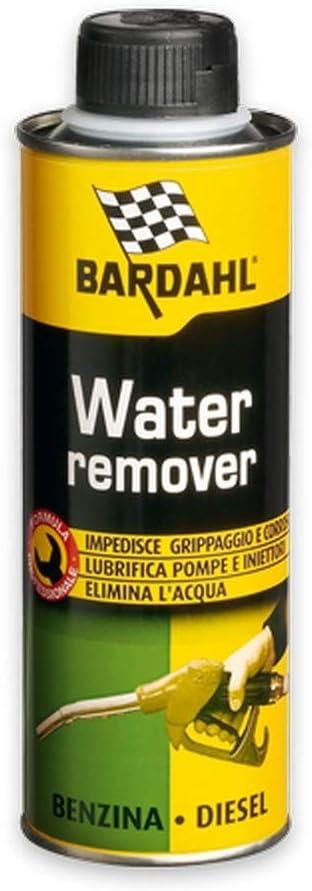 Bardahl - Aditivo Water Remover - Elimina el agua del carburante para motores de gasolina y diésel, 300 ml: Amazon.es: Coche y moto