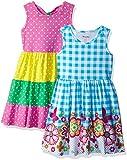 Nannette - Vestidos de Punto para niña (2 Unidades), Rosado, 5