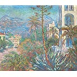 Canvas Prints Of Oil Painting 'Villas In Bordighera, Italy 1884 By Claude Monet' 20 x 23 inch / 51 x 59 cm , Polyster Canvas Is For Gifts And Game Room, Hallway And Laundry Room Decoration, graphs