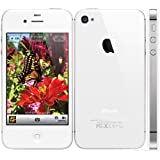Original AppleiPhone Compatible Mobile Apple iPhone 4S 8GB 16GB 32GB 64GB White Black (White, 64GB)