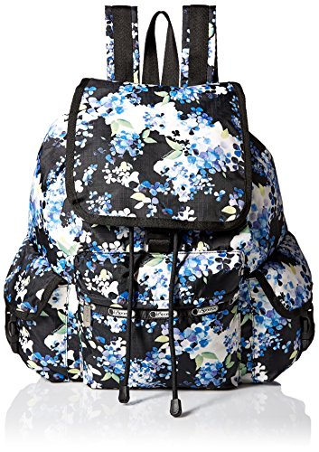 Front Cluster (LeSportsac Voyager Backpack, Flower Cluster, One Size)