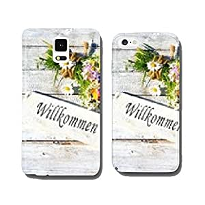 Wooden sign with flowers cell phone cover case iPhone6 Plus