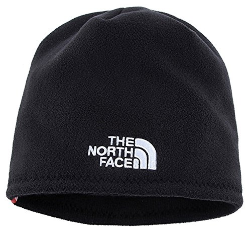 - The North Face Winter Thicken Polar Fleece Thermal Beanie Hat (Black, One Size)