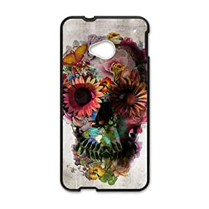 ali gulec skull Phone Case for HTC One M7