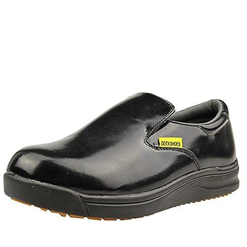 DDTX Unisex-Adult'Slip y Aceite Resistente a la Industria Ligera Zapatos de la Industria Negro(39) AUrK4s