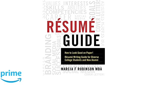 resume guide looking good on paper manual guide example 2018
