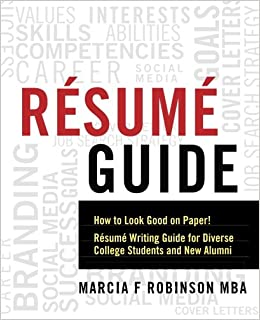 amazon com resume guide how to look good on paper resume