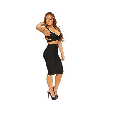 Kleid zweiteilig schwarz