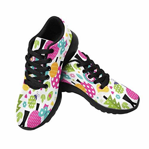 Scarpa Da Jogging Leggera Da Donna Running Running Leggera Easy Go Walking Comfort Sport Scarpe Da Corsa Cute Forest Multi 1
