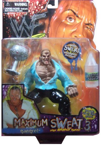 WWF Maximum Sweat 3 GANGREL Action Figure 1999 Jakks by Jakks Pacific by Jakks