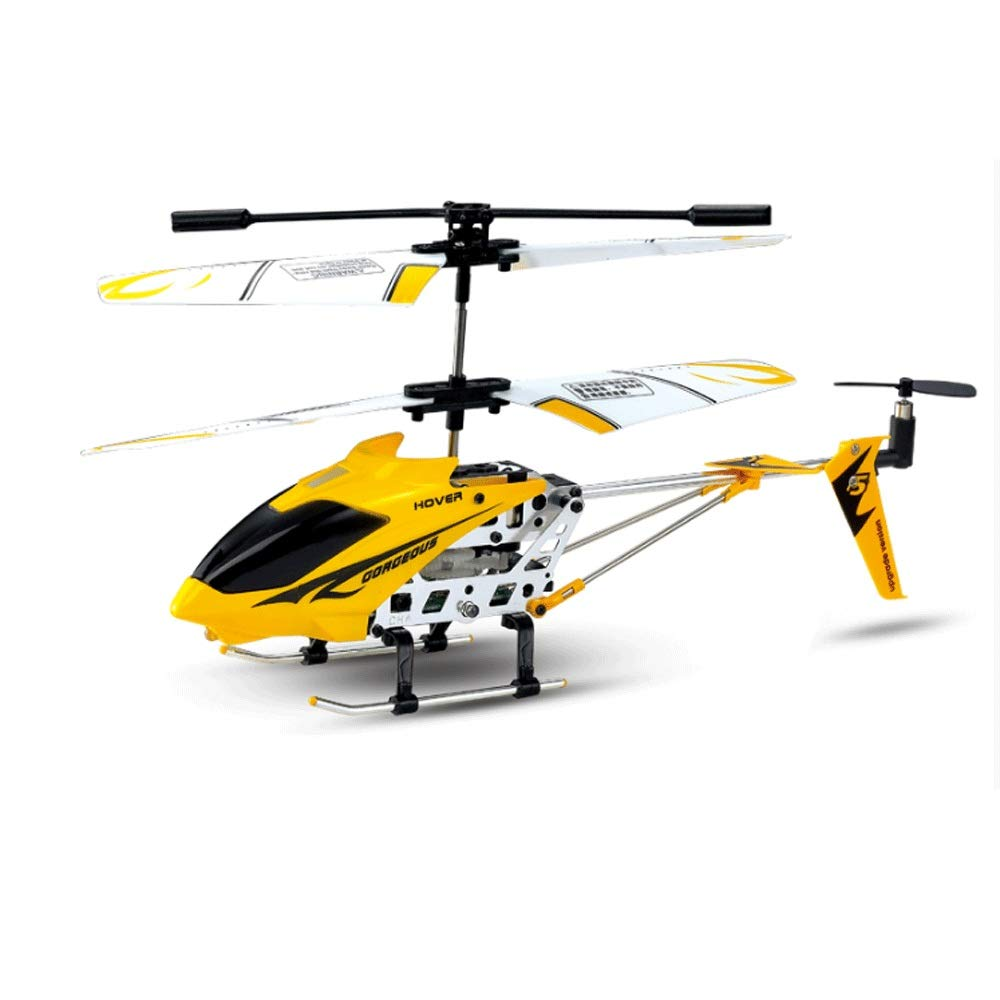 Zenghh RC Helicopter Drone Toy Fixed Hover Alloy Helicopter Flight Stability Three-Channel Multiplayer Game Children Boy Remote Control Aircraft Indoor Outdoor Aircraft Model Gyro New Preferred Prize