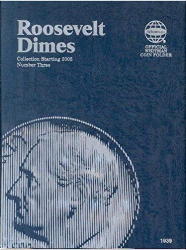 [0794819397] [9780794819392] Roosevelt Dimes Folder Starting 2005 (Official Whitman Coin Folder) – Hardcover
