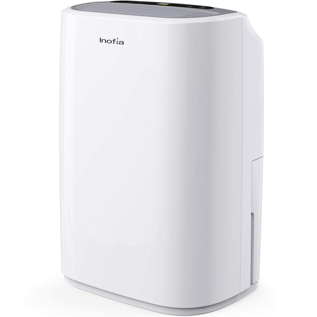 Inofia 30 Pints Dehumidifier Mid-Size Portable For Basements and Large Rooms, Intelligent Humidity Control For Space Up To 1056 Sq Ft, Continuous Drain Hose Outlet for Bathroom Basements Garage by Inofia