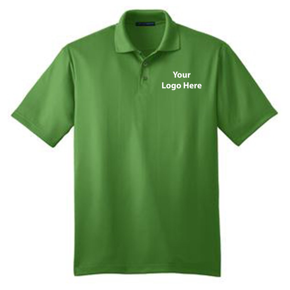 Fine Jacquard Polo - 24 Quantity - $27.25 Each - BRANDED with YOUR LOGO/CUSTOMIZED