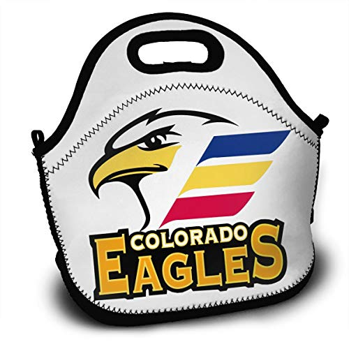 DJISAHTDF Colorado Eagles Hockey Portable Lunch Bag for sale  Delivered anywhere in USA