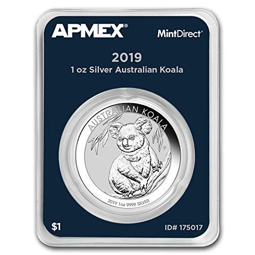 2019 AU Australia 1 oz Silver Koala (MintDirect® Single) 1 OZ Brilliant ()