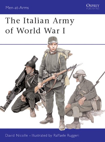 The Italian Army of World War I (Men-at-Arms)