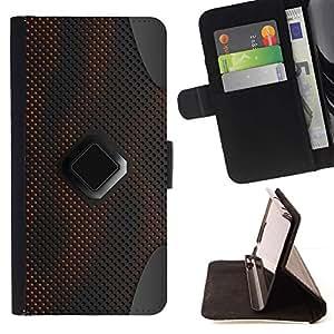For Sony Xperia Z1 Compact / Z1 Mini (Not Z1) D5503 Case , Patrón de ciencia ficción Pc Grey Art- la tarjeta de Crédito Slots PU Funda de cuero Monedero caso cubierta de piel