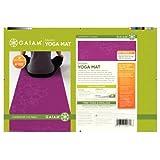 Gaiam Yoga Mat Bloom/Eclosion Print Wrapped (Fushia)