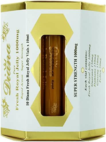 Diana Organic Fresh Royal Jelly 1000mg