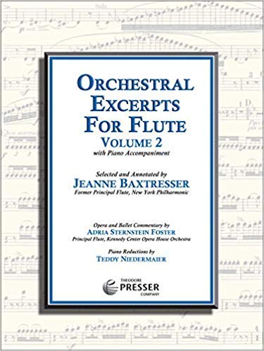 Orchestral Excerpts for Flute, V...