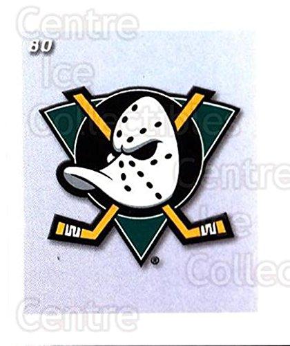 (CI) Anaheim Mighty Ducks Hockey Card 2002-03 NHL Power Play Stickers 80 Anaheim Mighty Ducks