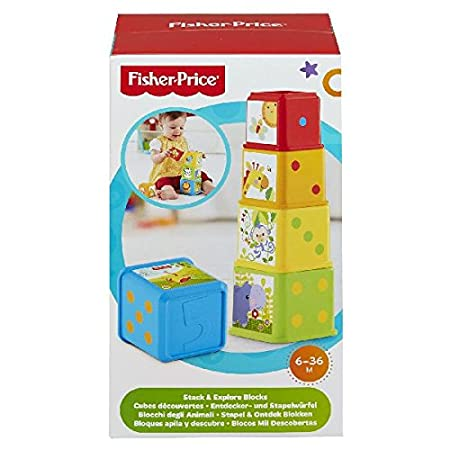 Fisher Price Bloques apila y descubre Mattel CDC