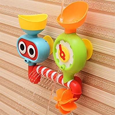 Cute Baby Bath Animals Toys Shower Kid's Water Tub Bathroom Playing Toy Gifts for Children by Jushye: Beauty