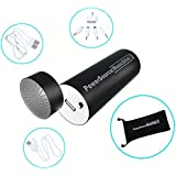 PowerSource MusicStick - Portable Cell Phone Charger WITH Speaker Dock COMBINED - Power To Charge And Play Your Music Wherever You Go - Quality Product - GREAT REVIEWS