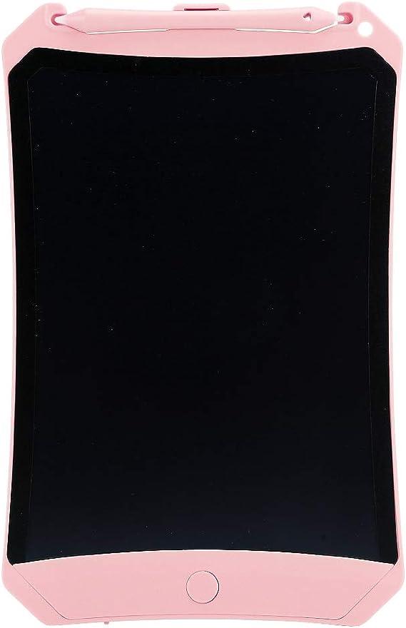 電子タブレットLCDライティングタブレット、LCDドローイングタブレット付きの描画ボード、子供/家族向けの手書き練習ギフト(Pink)