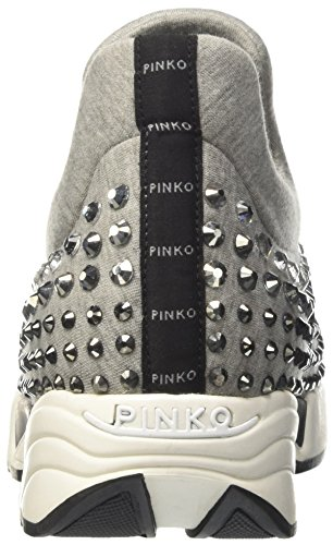 Donna Pinko Sneaker y2kp i42 Collo 1h209w Basso A Grigio pYYrwZqF