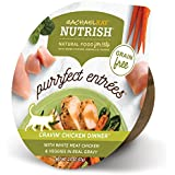 Rachael Ray Nutrish Purrfect Entrees Grain Free Natural Wet Cat Food, Cravin' Chicken Dinner, 2.8 Oz. Tub (Pack Of 24)