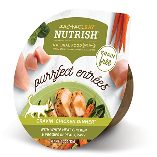 Rachael Ray Nutrish Purrfect Entrees Grain Free Natural Wet