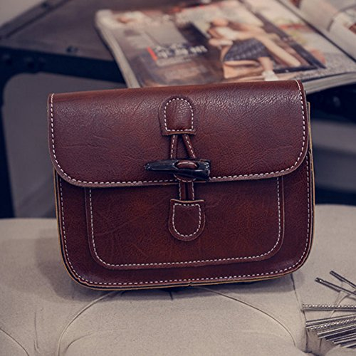Flip Leather PU Bag Ladies Shoulder New Crossbody Button Women Lock Widewing Fasion pqw8Znt