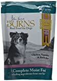 Burns Moist Food Penlan Chicken, Brown Rice and Vegetables for Dogs of all Ages 6 x 400 g Pouches