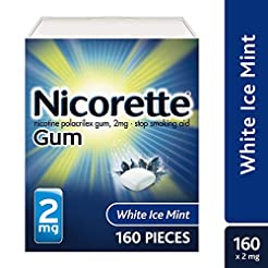 Nicorette Nicotine Gum to Quit Smoking, ...