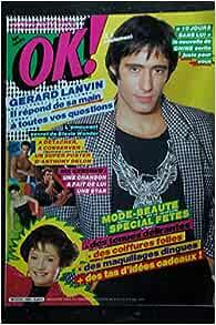 OK ! âge tendre 465 GERARD LANVIN ANTHONY DELON + Poster
