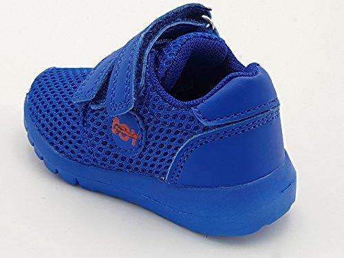 giardino d oro Shoes scarpe primi passi bimbo bambino primaverili estive  sportive da ginnastica snekers casual comode strappo colore blu numero 19   ... 14e5a63cfe6