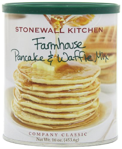 Stonewall Kitchen Small Farmhouse Pancake & Waffle Mix, 16 Ounce Can (Pack of 4) ()