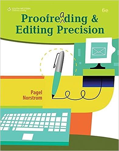 keyboarding proofreading exercises