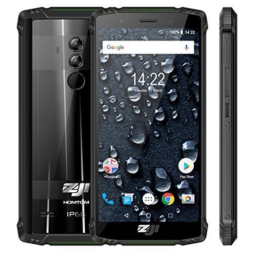 Homtom ZOJI Z9 Rugged - Smartphone Android 8.1 Octa Core 4G 6 + 64 ...